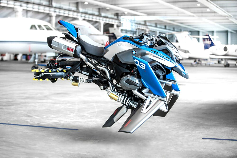 Konsep Motor Terbang BMW Motorrad Berbasis R1200GS