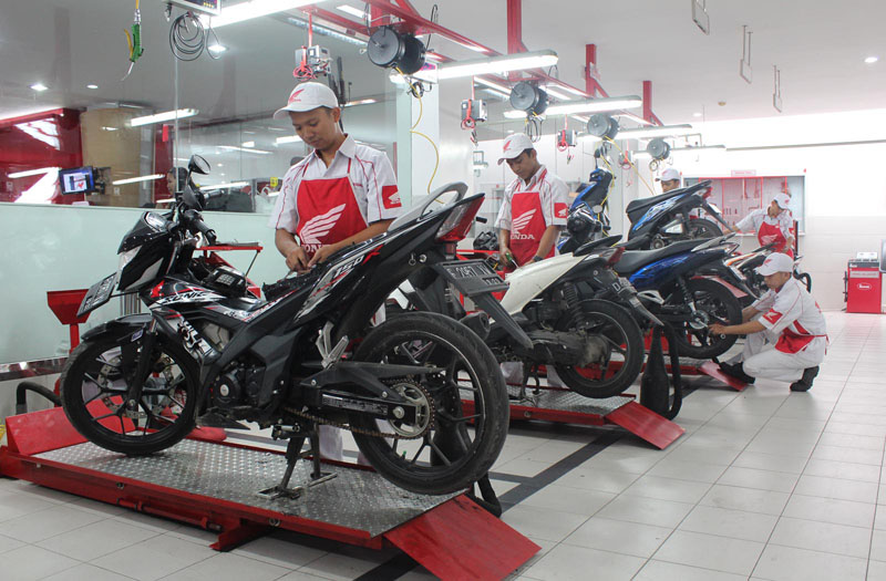 Bengkel Honda di Jawa Barat