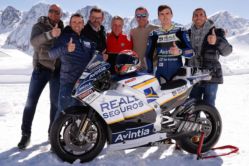 launching Tim Avintia Racing