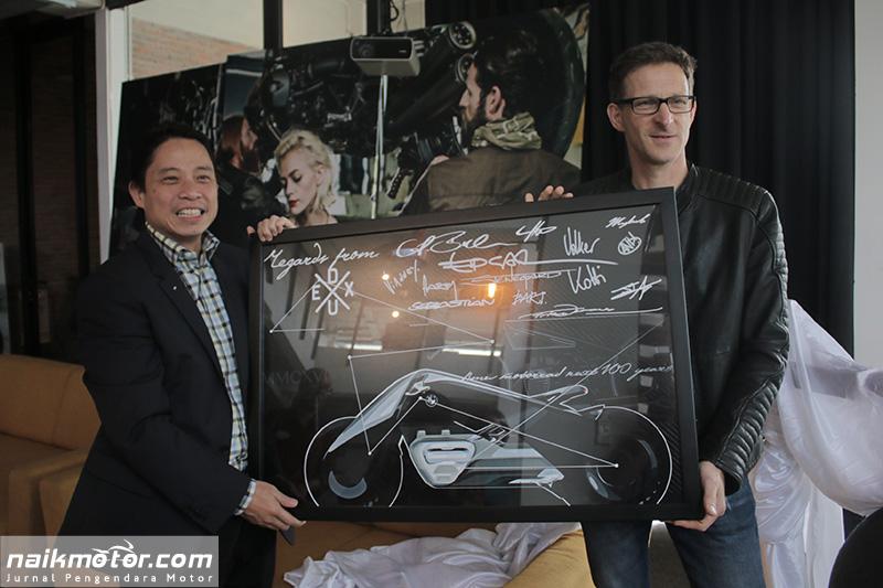 Markas baru Maxindo Moto Nusantara
