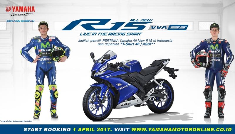 New R15 Ditawarkan Yamaha terbatas