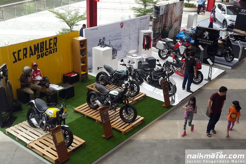 Ducati dan Scrambler Ducati Tampil Memukau di 1st Indonesia Autovaganza