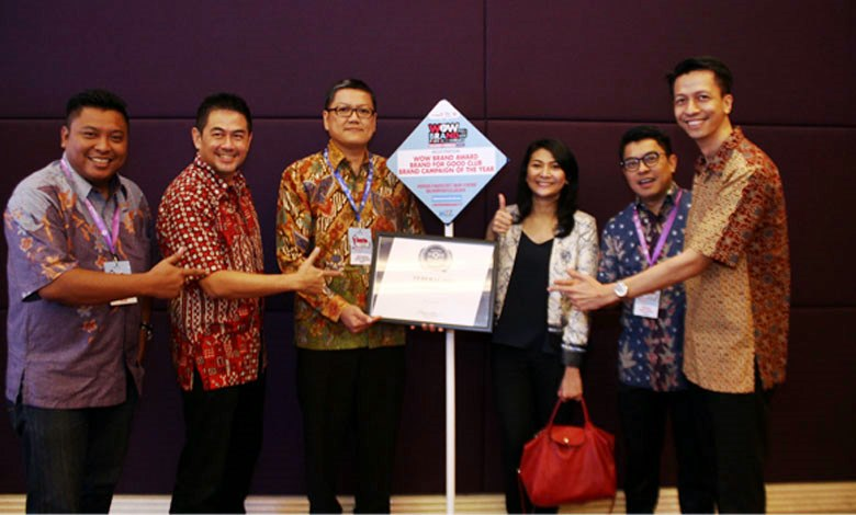 Federal Oil sabet Indonesia WOW Brand Awards.
