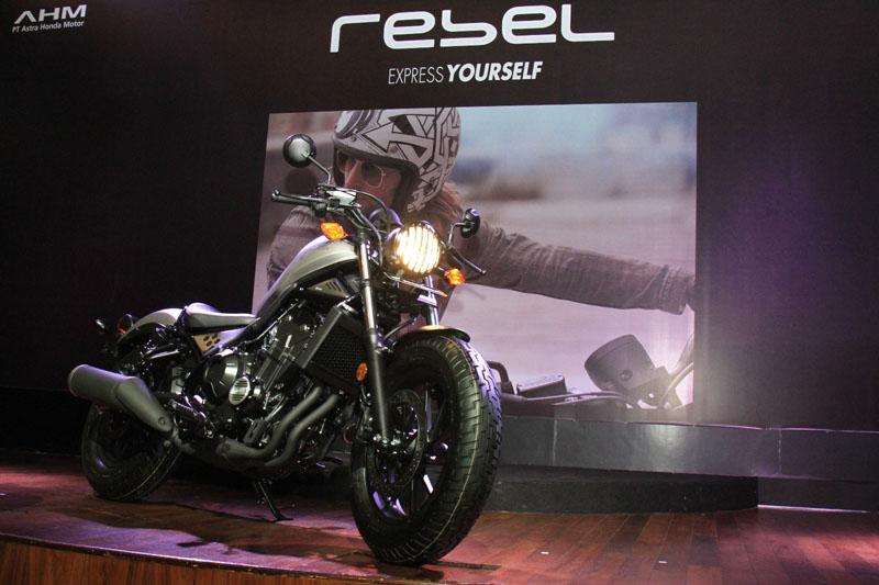 Honda CMX500 Rebel Sudah Diterima Konsumen Bulan April