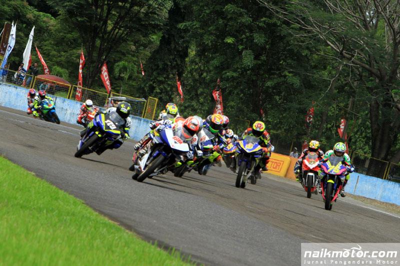 aturan start baru dan balap dua race