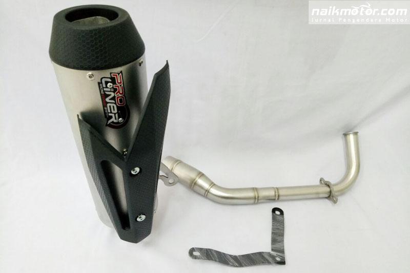 Knalpot Racing NMax dan Vario 150 Proliner