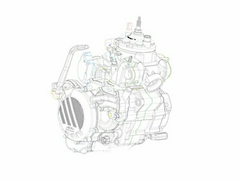 teknologi baru mesin 2 tak injeksi KTM EXC 2018
