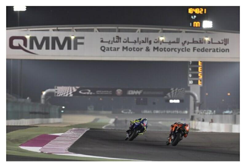 Qatar Dibayangi Hujan Michelin