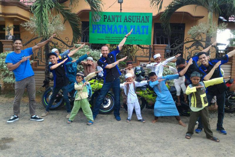 Ravens Squad Taklukkan Jalur Ekpedisi Batu Bara Sambil Santuni Anak Panti