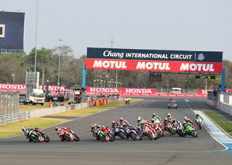 Thailand jadi tuan rumah MotoGP 2018