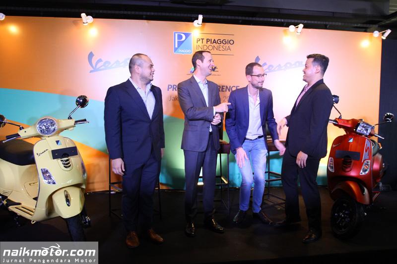 Piaggio Indonesia Luncurkan Vespa LX dan S i-get 125cc