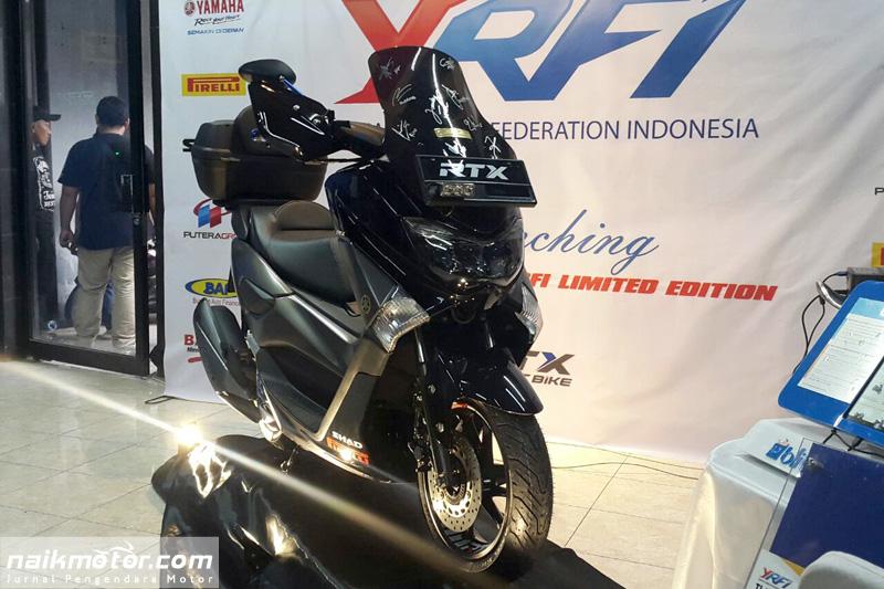 Beli Yamaha NMax YRFI Limited Edition 2017 Berlimpah Bonus
