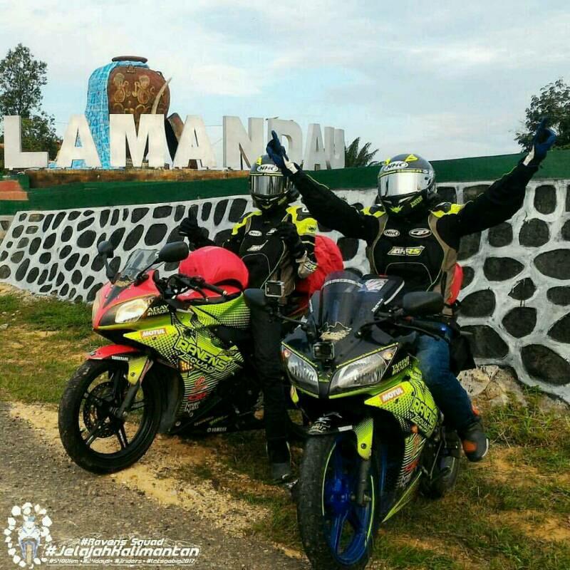 perjalanan ke arah KalimanRavens Squad eksplorasi ikon Kota Sampit