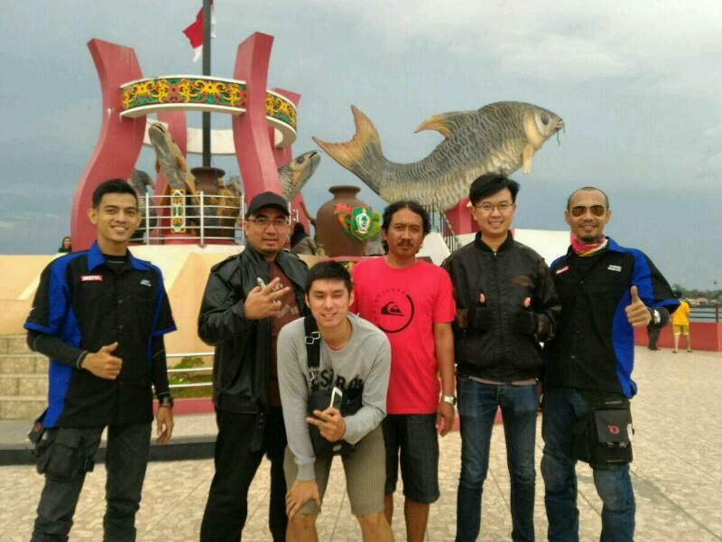 perjalanan ke arah Kalimantan Tengah, Ravens Squad eksplorasi ikon Kota Sampit