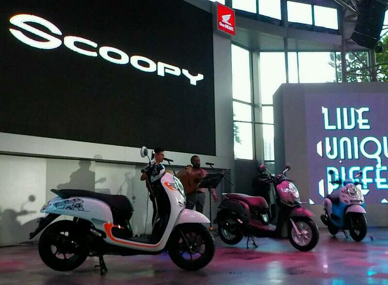 New Honda Scoopy pakai pelek 12