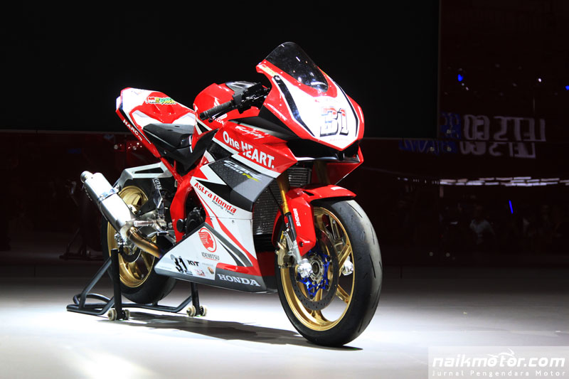 Honda beri apresiasi khusus CBR250RR jawara ARRC