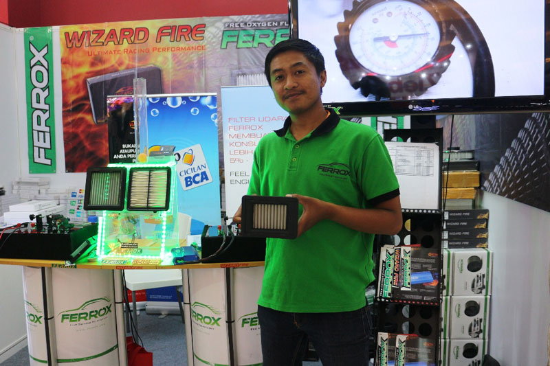 Ferrox Rilis Filter Udara Khusus Suzuki GSX–R150 dan GSX-S150