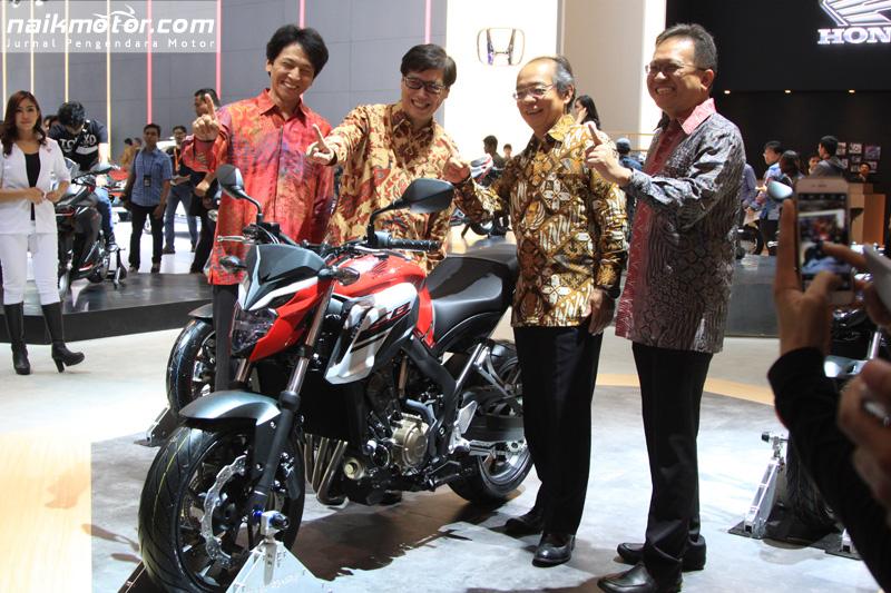 Honda New CB650F Hadir Lebih Bertenaga
