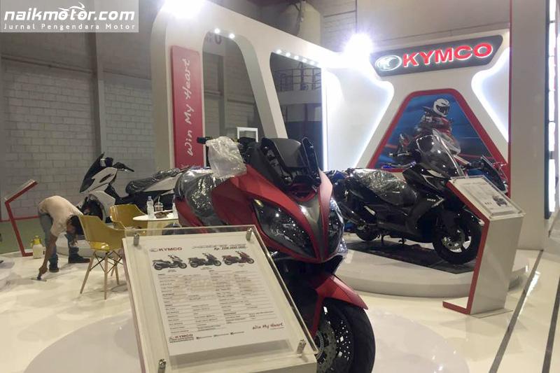 Intip Persiapan Pabrikan Motor di Indonesia International Motor Show 2017