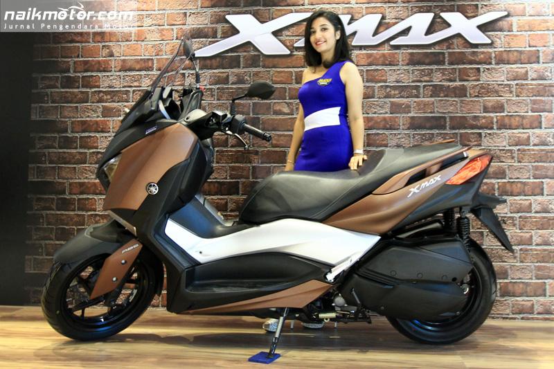 Mayoritas Inden Online Yamaha XMax Berasal dari Bandung