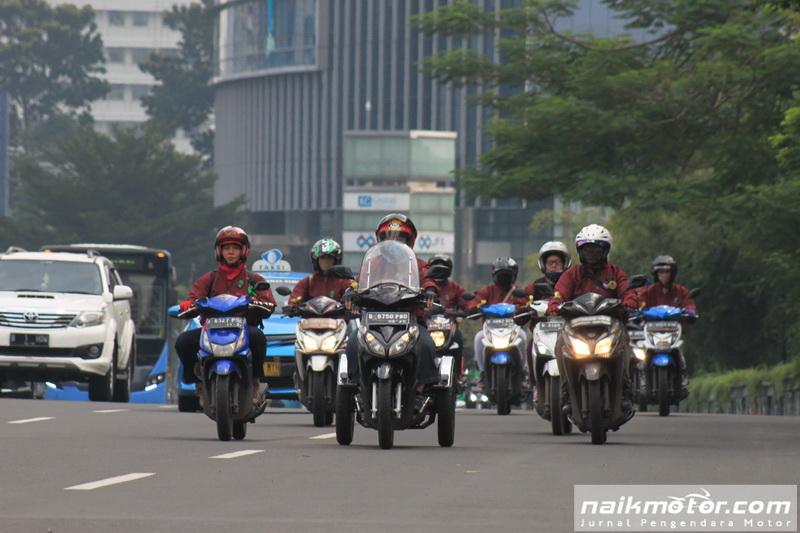 perluasan pembatasan sepeda motor