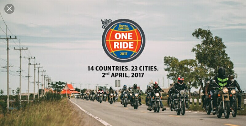 Royal Enfield One Ride 2017
