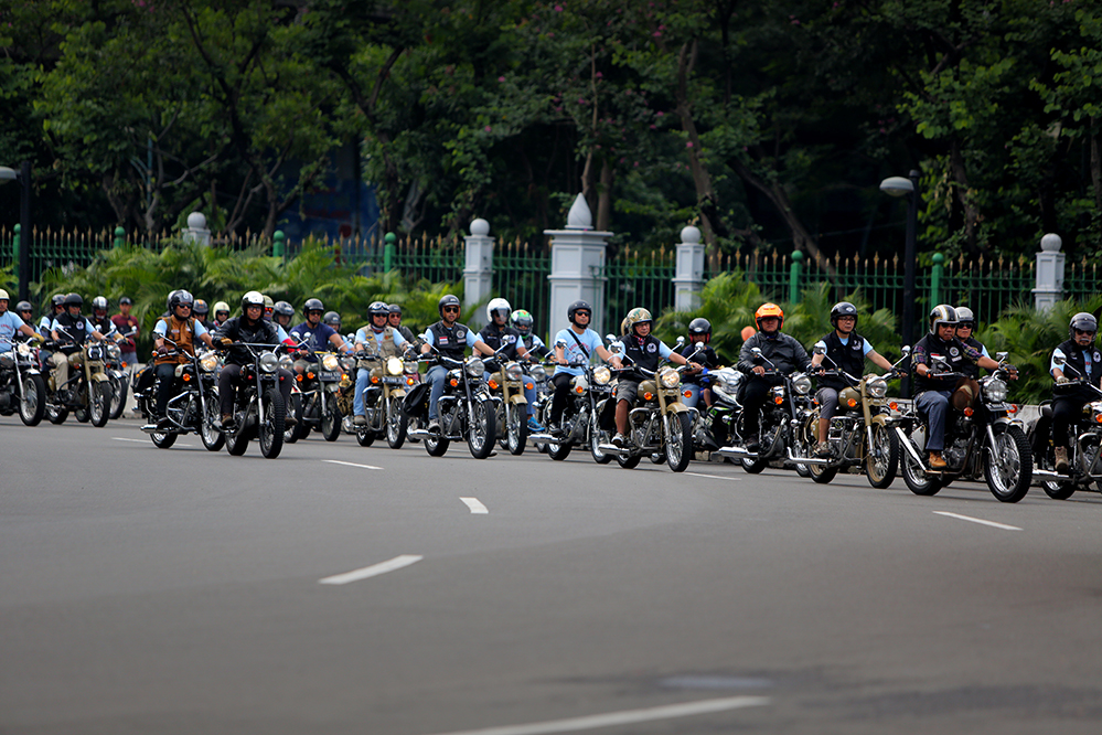 Royal Enfield One Ride 2017 di Indonesia