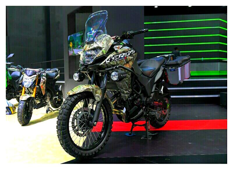 Kawasaki Versys X-300 Versi Militer di BIMS 2017
