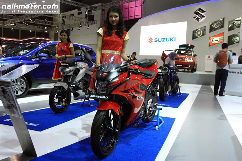 Suzuki Hanya Tampilkan GSX-R150 dan GSX-S150 di IIMS 2017