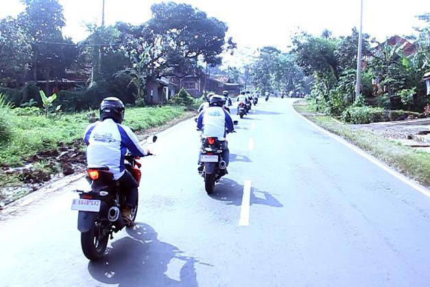 Touring Suzuki GSX-S150 Sukses Taklukan 1.500 KM