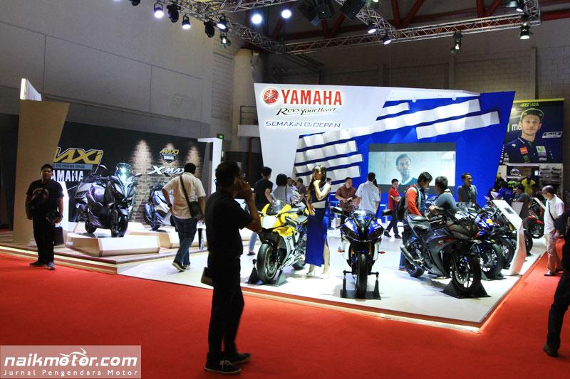 Yamaha Pamer Produk dan Teknologi di IIMS 2017