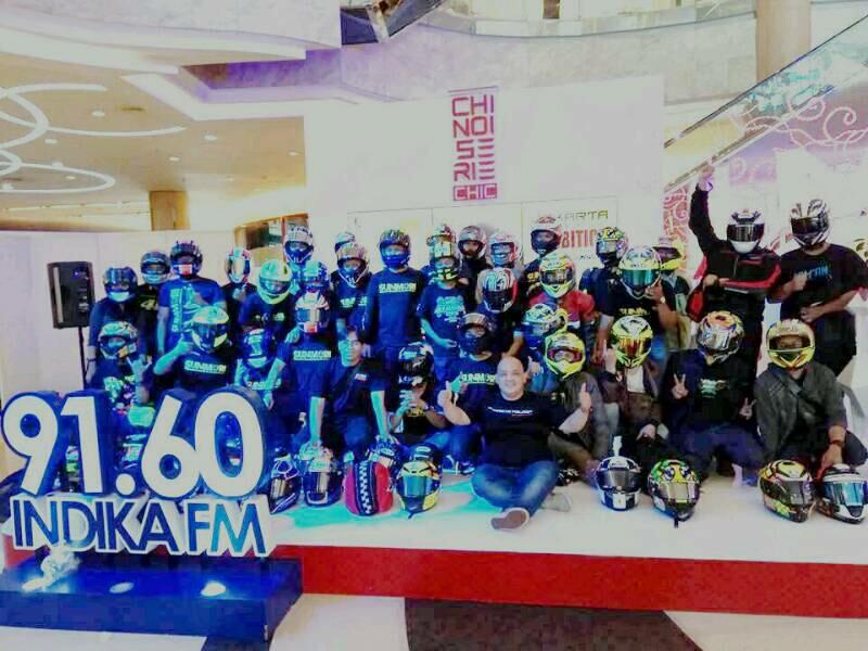 Helmet Exhibition 2017 Bergeser ke Bandung