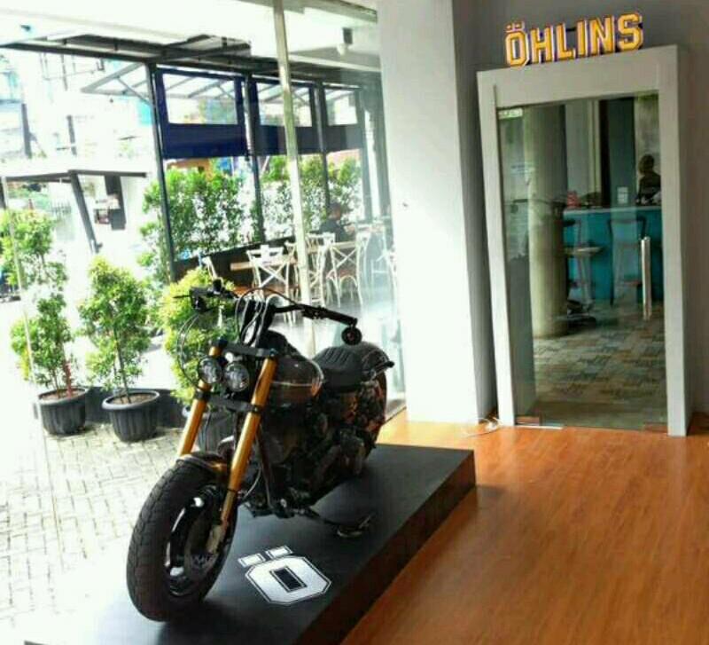 Pembukaan Showroom Öhlins Indonesia dalam Öhlins Days