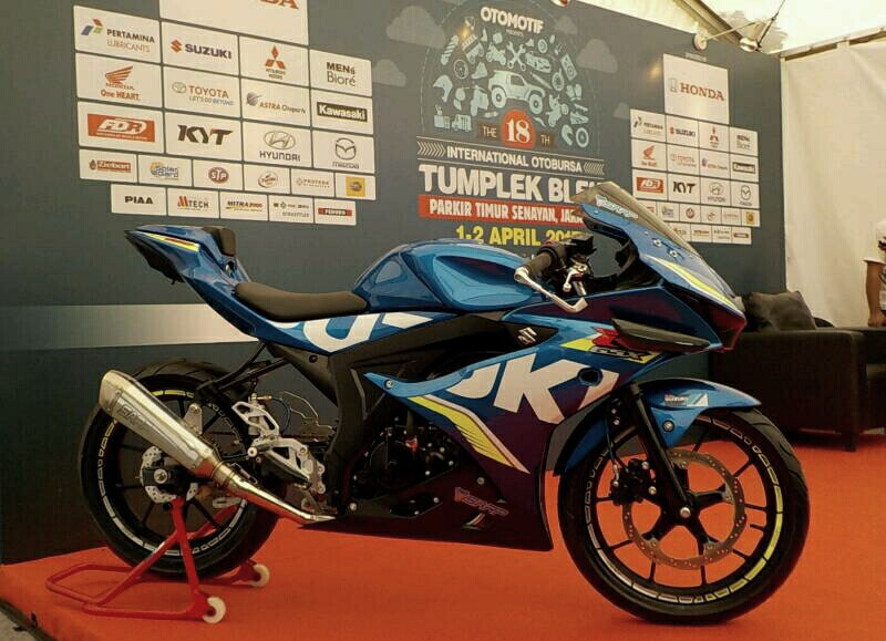 Suzuki Bakal Rilis CDI Khusus Buat GSX-Series