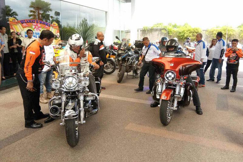 Kolaborasi Motoris Tiga Negara