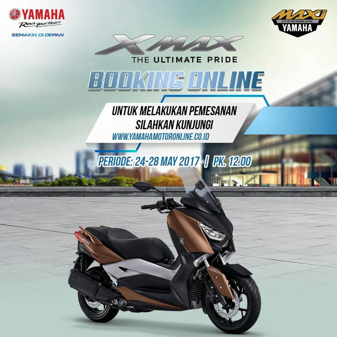Ini Cara Inden Online Yamaha XMax