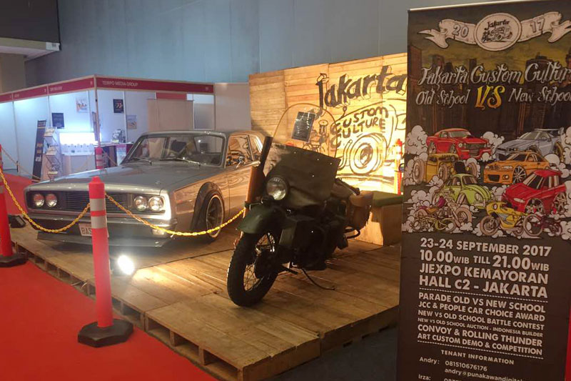 Jakarta Custom Culture Unjuk Gigi di IIMS 2017