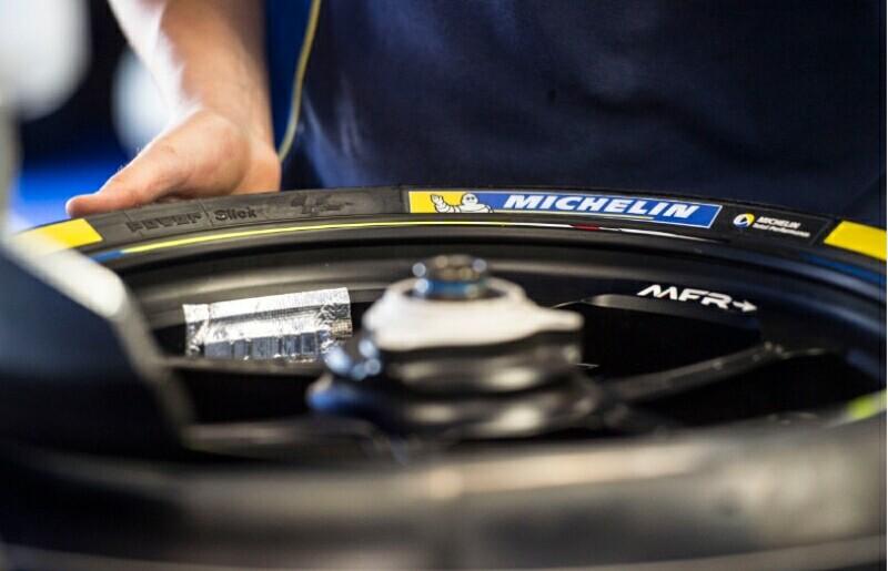 Le Mans Michelin Menyiapkan Ban Asymmetrical Baru