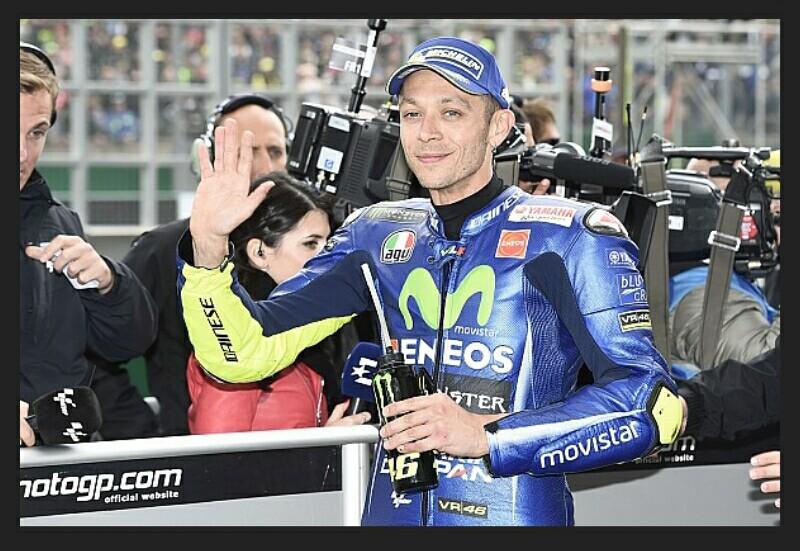 Rossi Mengalami Kecelakaan