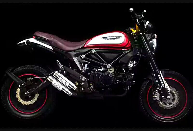 Scrambler Ducati berkapasitas 125cc