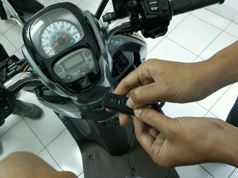 Answer Back System Honda Scoopy