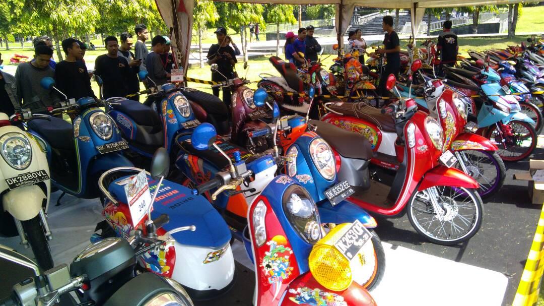 Pemenang Honda Modif Contest 2017 Seri Bali 11 Juni