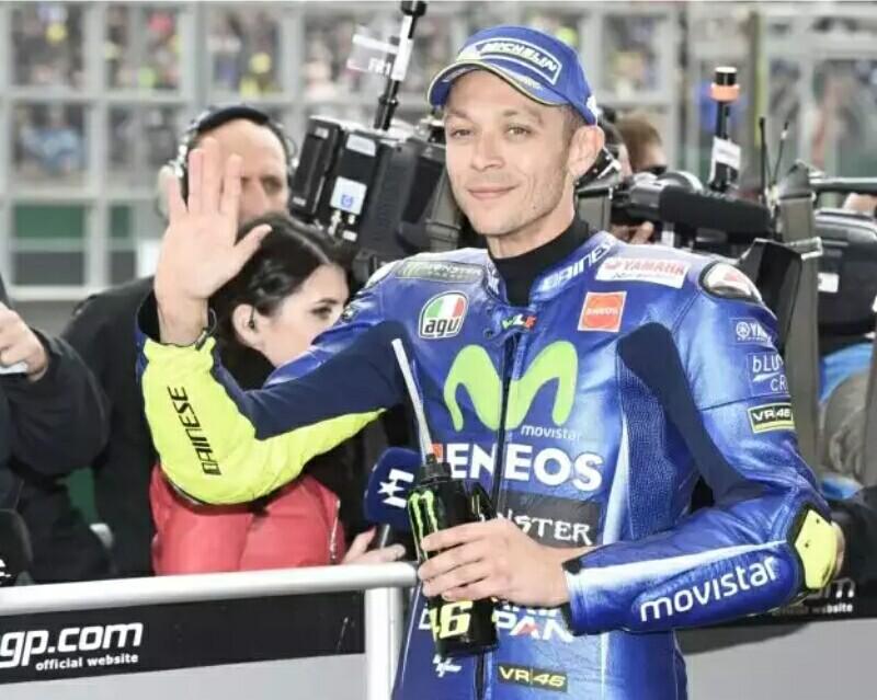 Rossi Dinyatakan Fit untuk Latihan Bebas MotoGP 2017 Mugello