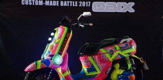 Yamaha QBIX Custom Made Battle 2017