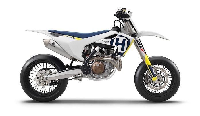 motor baru HUsqvarna FS 450 Supermoto