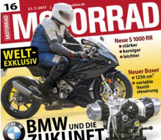 Sosok generasi baru BMW S1000RR bocor