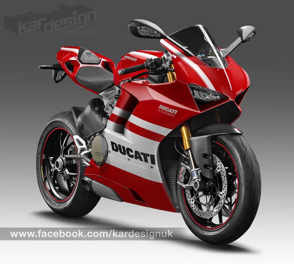 Ini Penampakan Reka Gambar Motor Sport Paling Ditunggu Ducati V4
