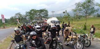 HOG Jadoel Naik Motor Royal Enfield ke Baturaden Bike Week 2017