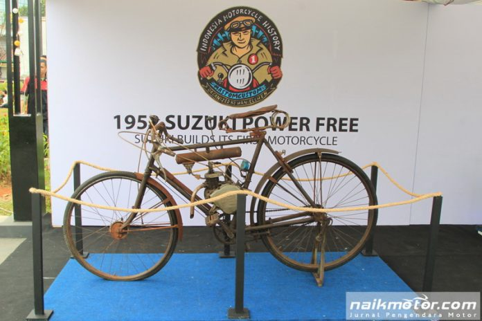 Kisah Motor Pertama Suzuki Power Free di Indonesia