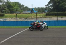 Tim Suzuki Indonesia Latihan Ubah Racing Line